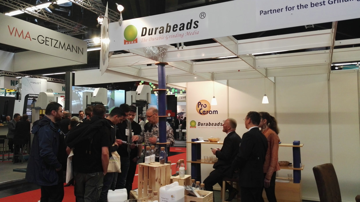 European Coatings Show 2017- Durabeads