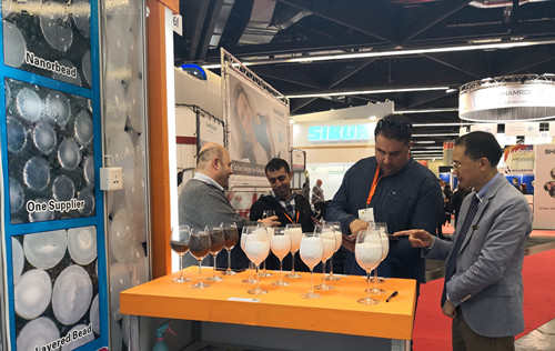 Micro Tungsten Crabide Bead attended ECS 2019